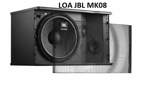 Loa JBL MK08 thiết kế bắt mắt
