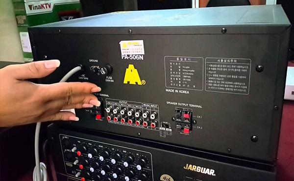 Đặc điểm Amply Jarguar PA 506N