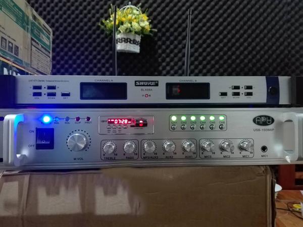 Amply APU Phân 6 Vùng USB 150W6P
