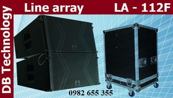 Loa array DB LA-112F và thùng đựng