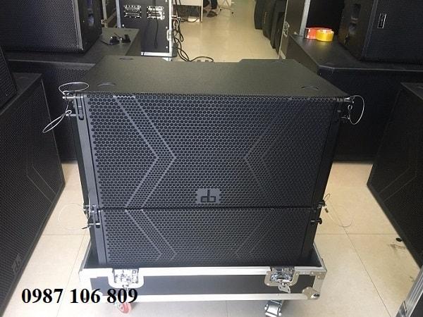 Loa array DB LA-210F tại Phúc Hưng audio