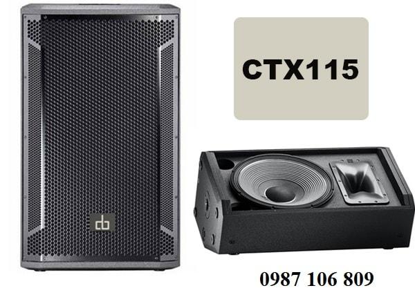 Loa DB CTX115 cho âm thanh sân khấu