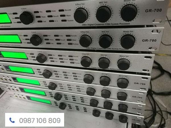 Giới thiệu vang số Bk-GR700