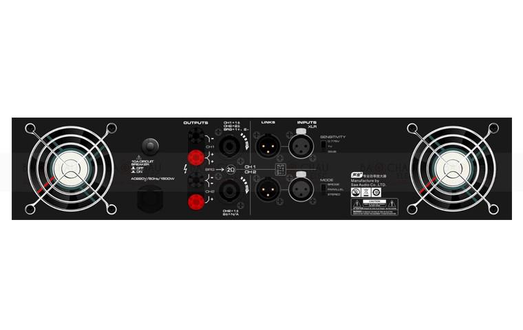 Đặc điểm Cục đẩy công suất Soundstandard CA12