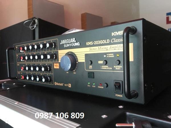 Amply Jarguar KMS-203 Gold Classic tích hợp Bluetooth