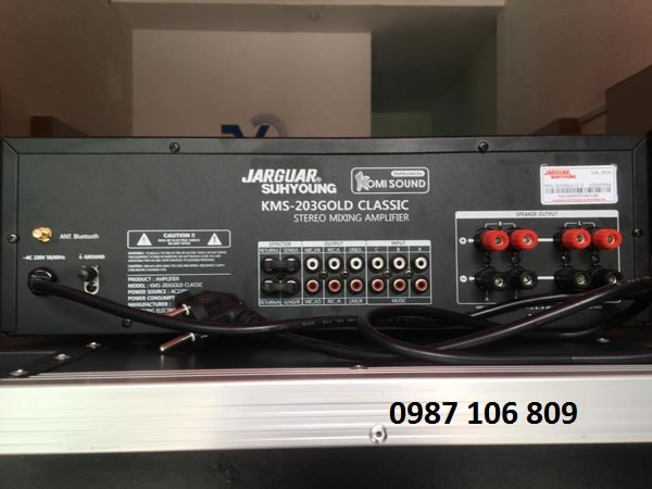 Amply Jarguar KMS-203 Gold Classic công suất lớn