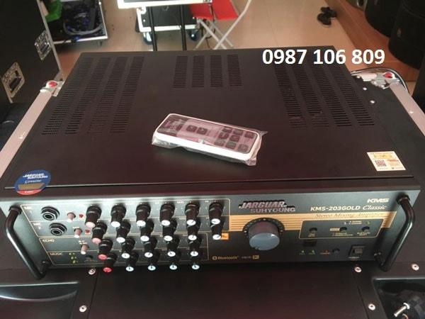 Amply Jarguar KMS-203 Gold Classic - Điều khiển từ xa