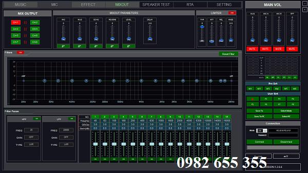 Xử lý âm thanh trên máy tính của Vang số VG-911 Pro