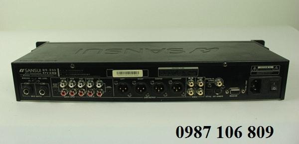Mặt sau Vang số Sansui E90