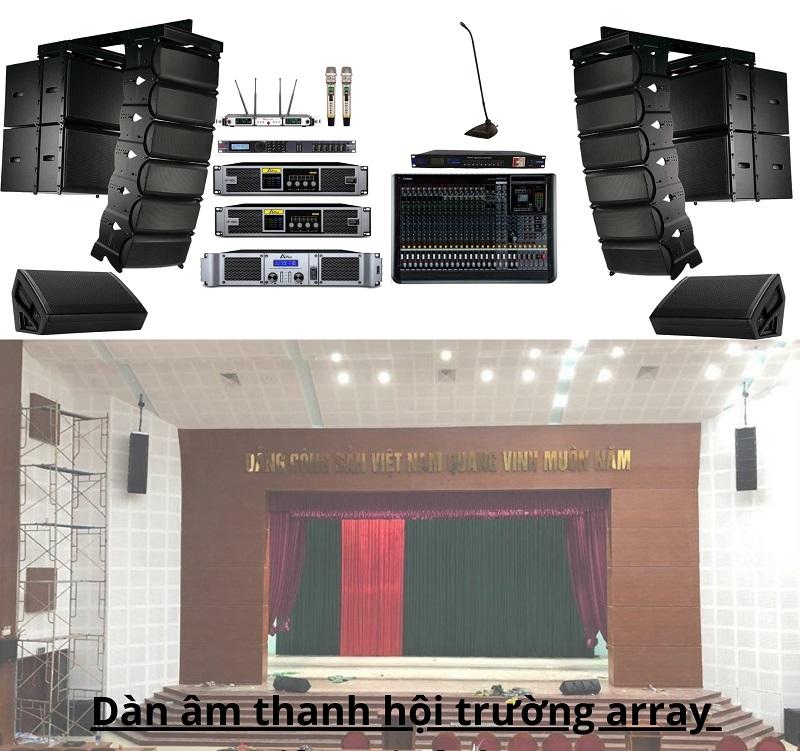 Giá bộ dàn âm thanh hội trường chỉ từ 150.000.000đ