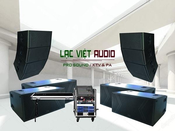 Lắp đặt dàn âm thanh hội trường cho khoảng 500- 1000 khách: 200.000.000đ