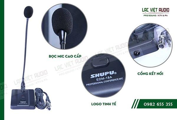 Micro SHUPU EDM 18A có thiết kế hiện đại thông minh